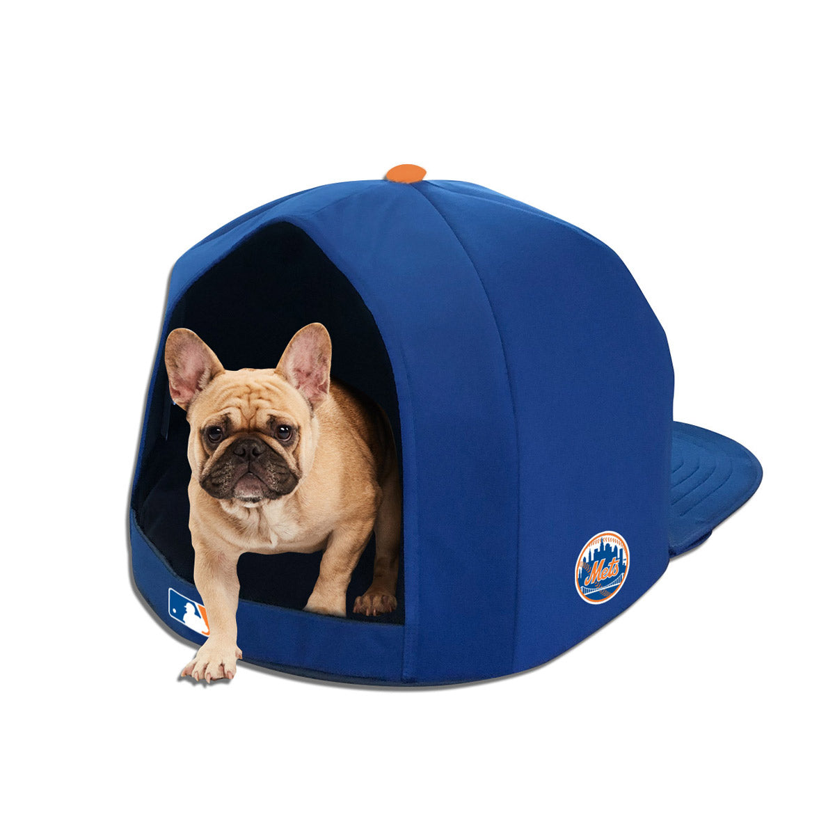 New York Mets Nap Cap Plush Dog Bed