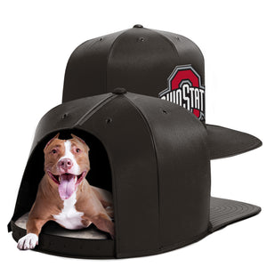 Ohio State University Nap Cap Dog Bed