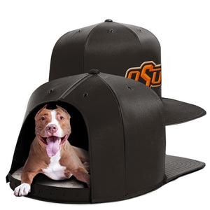 Oklahoma State University Nap Cap Dog Bed