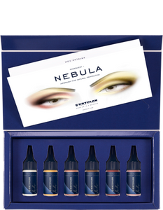Kryolan Nebula Iridescent Set 6 Colors (2)