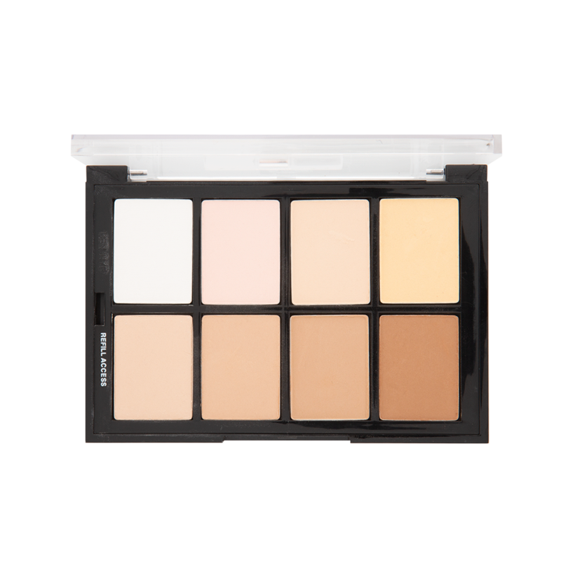 Ben Nye Studio Color Light-Medium Palette (STP-53)