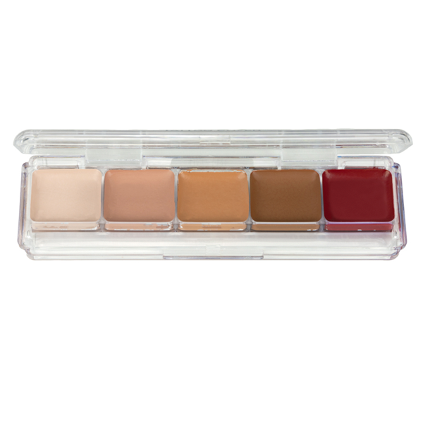 Ben Nye Alcohol-Activated Concealer Palette (Tattoo Cover) - AAP-21