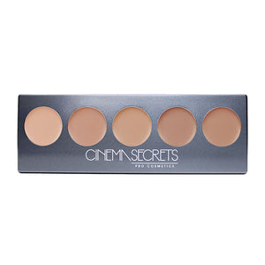 Cinema Secrets Ultimate Foundation 5-in-1 Pro Palette (500A Series)