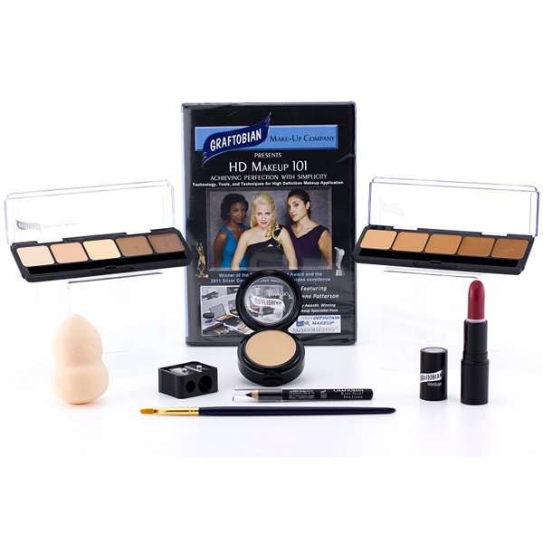 Graftobian HD Essentials Makeup Kits