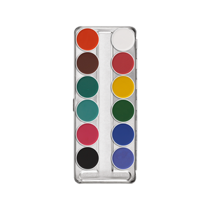 Kryolan Aquacolor 12 Color Palette (FP2)