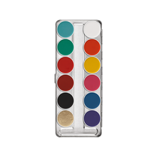 Kryolan Aquacolor 12 Color Palette (FP)