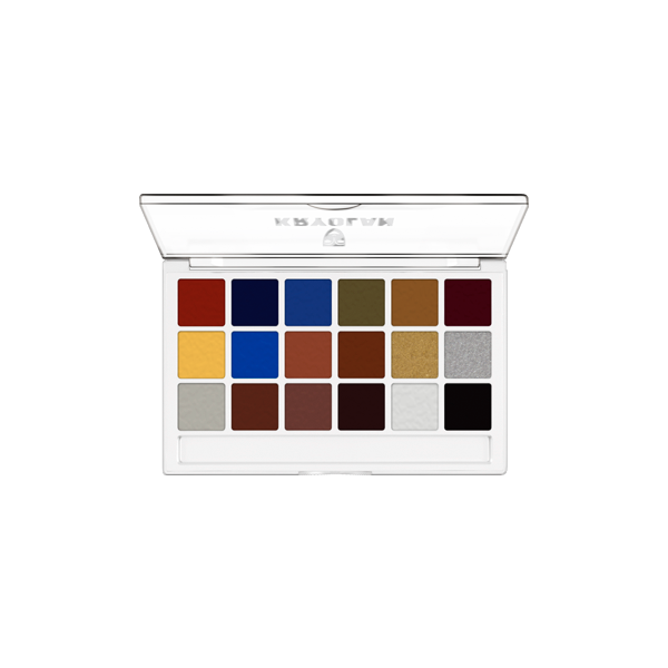 Kryolan Body Illustration Make-up Color Palette (FX)