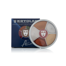Kryolan Cream Color Circle Interferenz