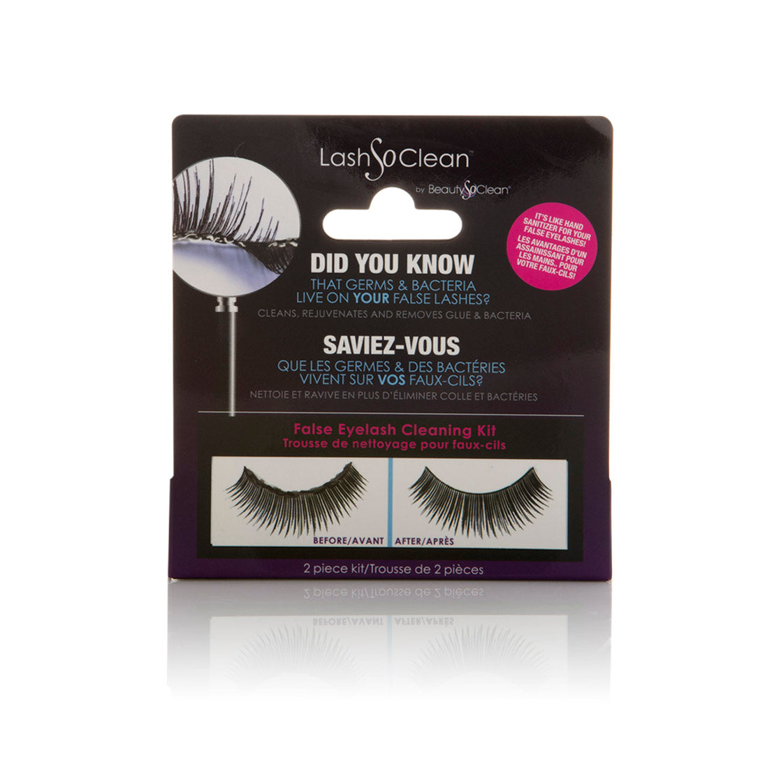 LashSoClean by BeautySoClean False Eyelash Cleaning Kit