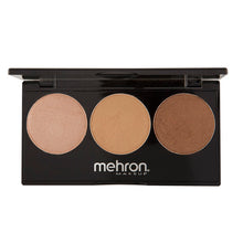 Mehron - Highlight-Pro 3 Color Palette (Warm)