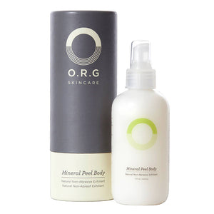 O.R.G Skincare Mineral Peel Body