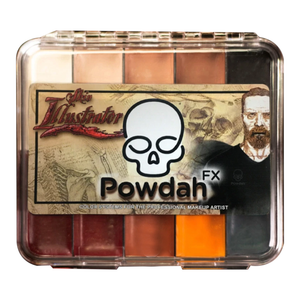Premiere Products Skin Illustrator Powdah On Set Palette