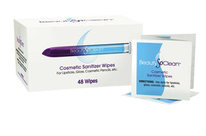 BeautySoClean Cosmetic Sanitizer Wipes