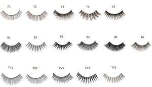 Kryolan Upper Eyelashes