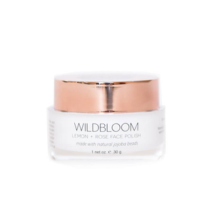 Wildbloom Skincare Lemon Rose Face Polish