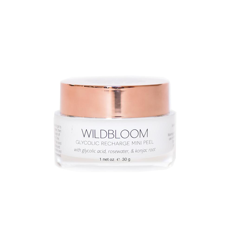 Wildbloom Skincare Glycolic Recharge Mini Peel Mask