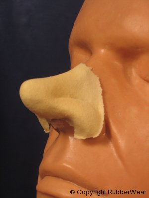 Rubber Wear Cyrano Nose