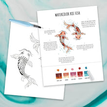Maya X Kiwi Koi DIY Watercolor Kit