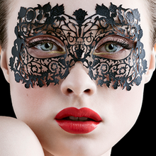 Face Lace Musetress with Open Eyes