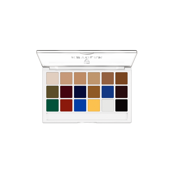 Kryolan Body Illustration Make-up Palette (Extra)