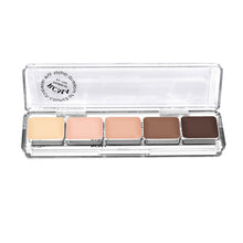RCMA 'Light' Highlight And Contour 5 Part Palette