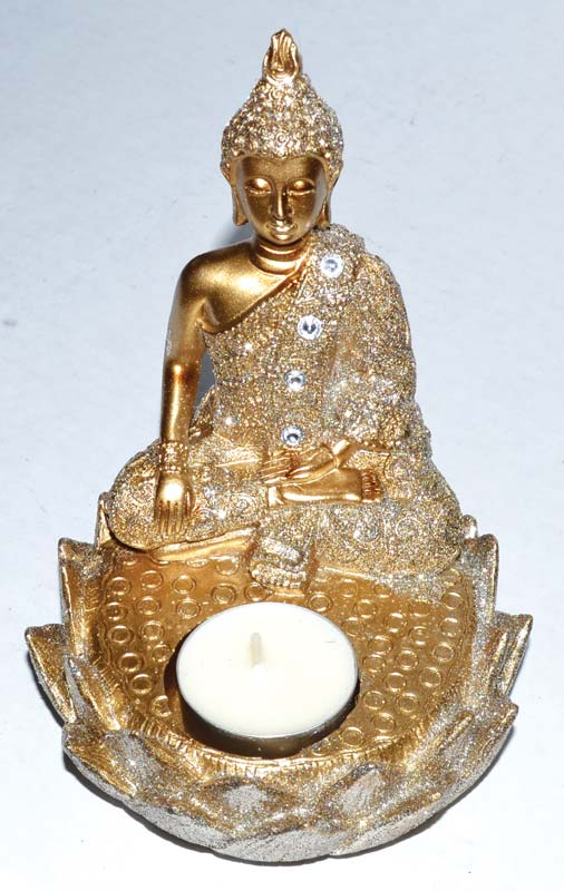 "6"" Buddha Tealight Holder"
