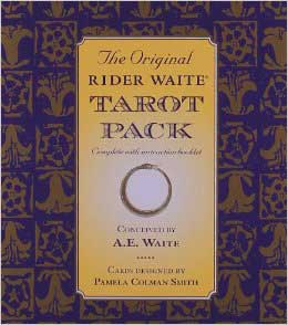 Rider Waite Deck & Book by Pamela Coleman Smith