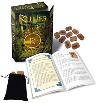 Runes: Gods Magical Alphabet (deck & book)