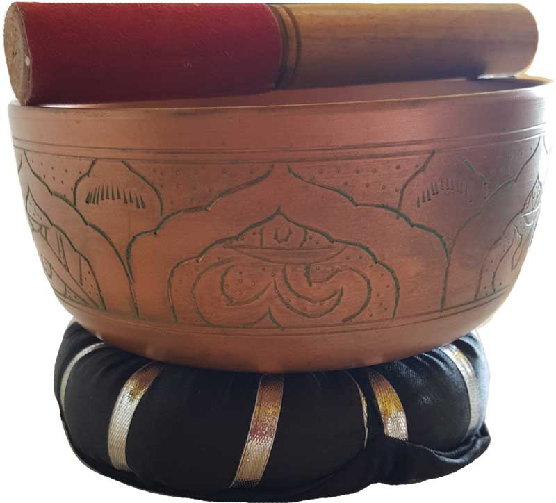 Metal Singing Bowl 6""