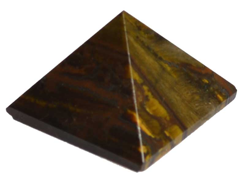 Tiger's Eye Pyramid (25-30mm)