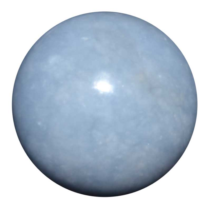 Angelite Sphere (40mm)
