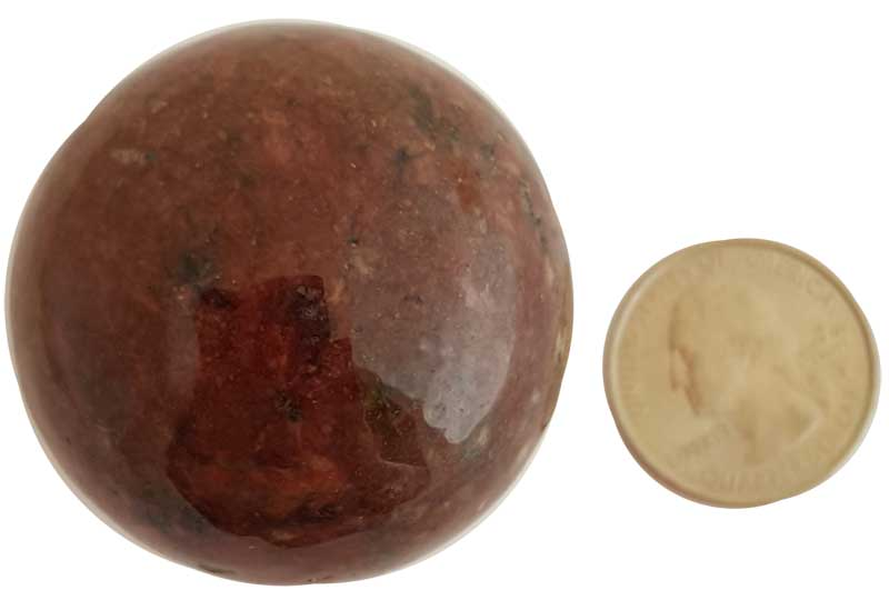 Rhodonite Sphere (40mm)