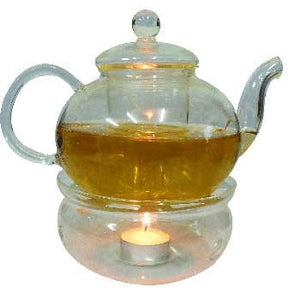 Glass Teapot with Warmer