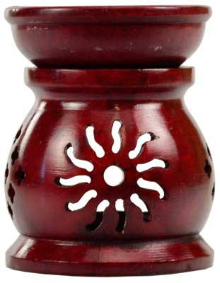 Red Soapstone Oil Diffuser