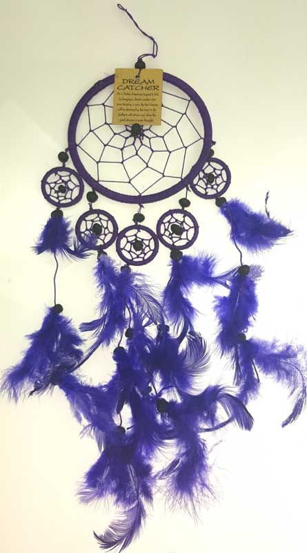 Purple Dream Catcher 5""