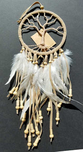 Tree of Life Tan Dream Catcher