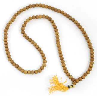 Sandalwood Prayer Mala 3.5mm
