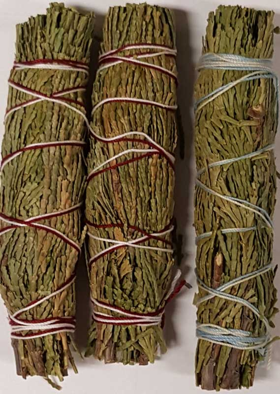 Cedar Smudge Sticks (3 pack)