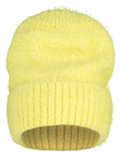 Sparkly Knit Hat, Yellow