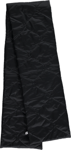 Quilted Scarf, Black