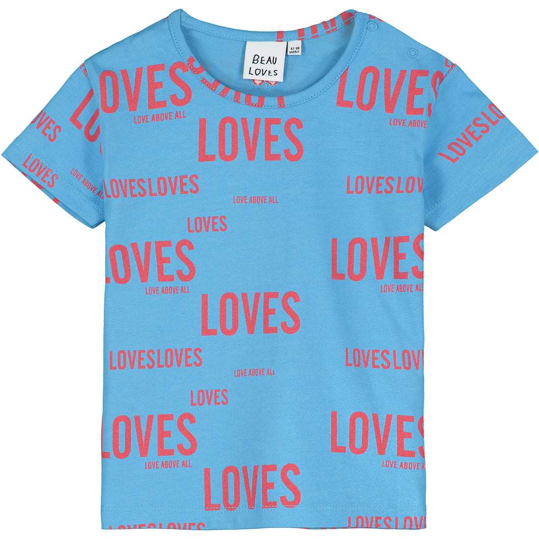 Cobalt Loves Loves Baby T-Shirt