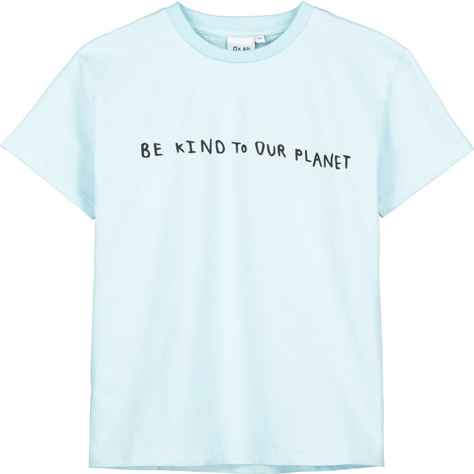 Sky Blue Be Kind To Our Planet T-Shirt