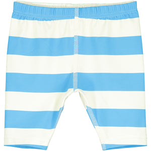 Blue Stripe Baby Swim Pants
