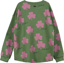 Moss Lucky Sweater
