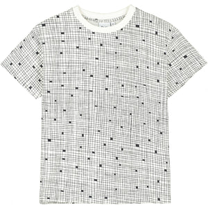 Natural Grid T Shirt
