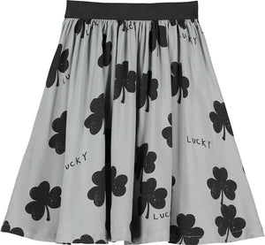 Washed Slate Lucky Circle Skirt