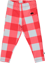 Baby Leggings Gingham Red