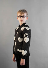 Black Hearts Padded Bomber
