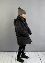 Black Loves Long Line Puffa