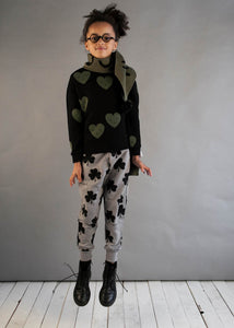 Black Hearts Sweater